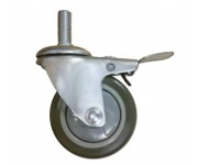 Lockable Stem Castor 80mm | Wheels