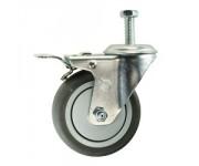 Lockable Stem Castor 125mm | Wheels