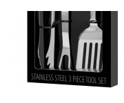 3 Piece Stainless Steel BBQ Tool Set | Tools & Accessories