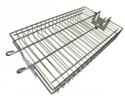 Rotisserie Flat Basket | Rotisserie