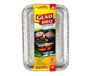 Glad Foil BBQ Trays 4Pk | Roasting