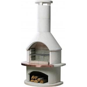 Rondo BBQ Fireplace | Buschbeck  | SHOWCASE | Wood | Buschbeck