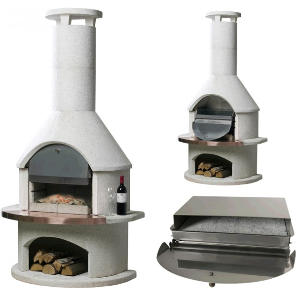 A Pizza Oven Option To Your Barbeque Fireplace