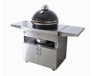 Kamado Grill 18 in Cabinet | Charcoal  | Kamado Grill | Grandfire