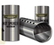 Aromachef Cylindrical BBQ Smoker | Smoker Boxes