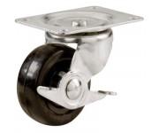 Lockable Plate Castor 70mm | Wheels