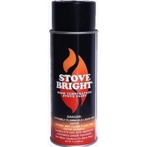 Stovebright HT Paint - Satin Black | Paint and Polish | Hi Temp Paint