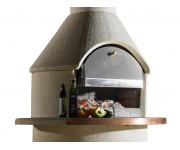 Buschbeck St Moritz with Pizza Insert | Pizza Ovens - Wood